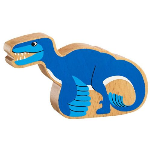 Natural blue utahraptor